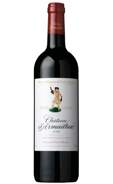 【也买酒】达玛雅克庄园干红葡萄酒2011(香港免税价)